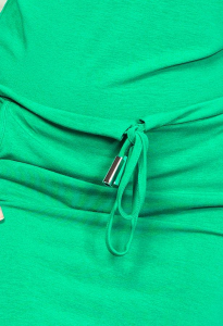 Rochii sport ieftine - Rochie sport cu buzunare verde [2]