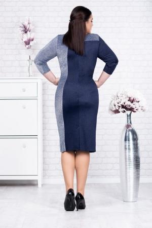 Rochie albastra eleganta de ocazie Henrieta1