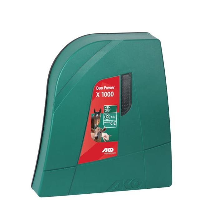 Aparat gard electric AKO DUO X 1000 - 1 J, 230 V / 12 V 0