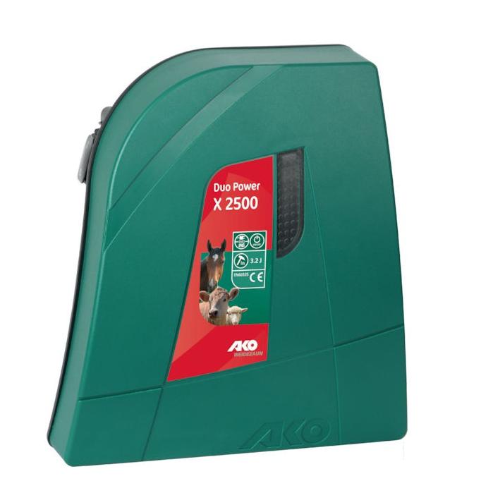 Aparat gard electric AKO DUO X 2500 - 2 J, 230 V / 12 V 0