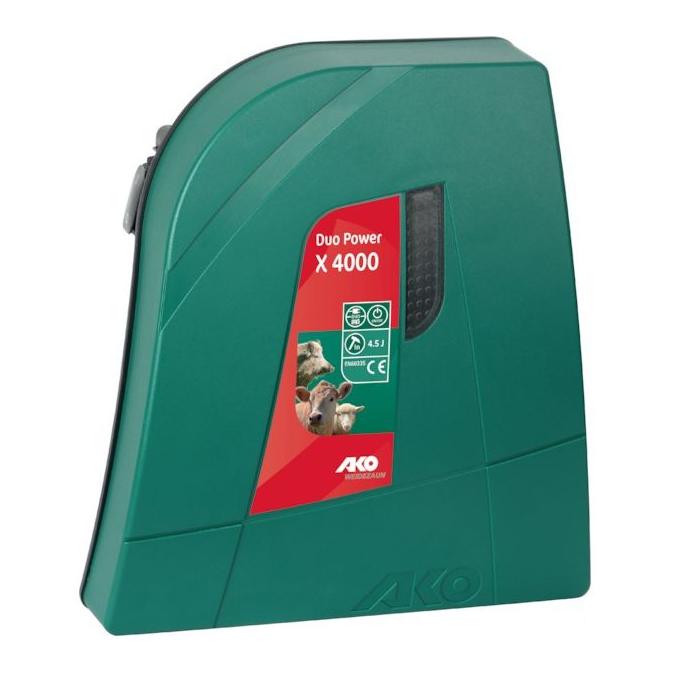 Aparat gard electric AKO DUO X 4000 - 4,5 J, 230 V / 12 V 0