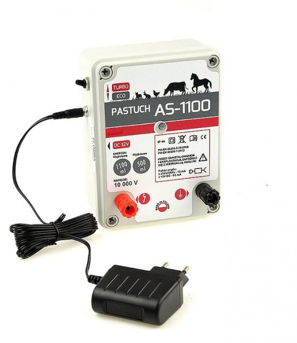 Aparat gard electric AS 1100 - 1,1 JOULE, 230 V / 12 V [4]