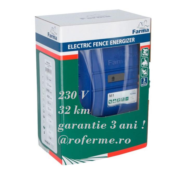 Aparat gard electric Farma M1 - 1 J, 230 V 0
