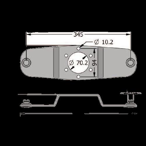 Arc lamelar, suport cutit, cositoare rotativa [1]