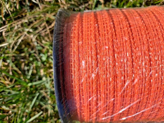 Banda pentru gard electric -10 mm, 200 m, portocaliu [1]