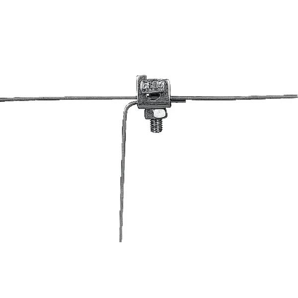Clema metalica pentru conductori gard electric 2