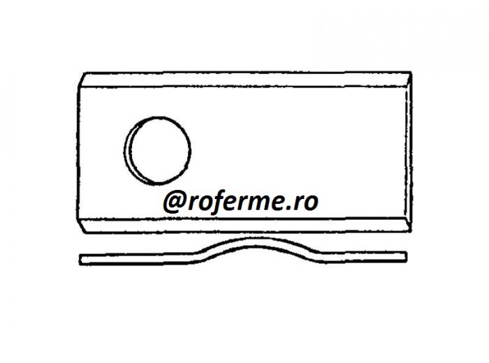 Cutit ondulat pentru cositori rotative 1