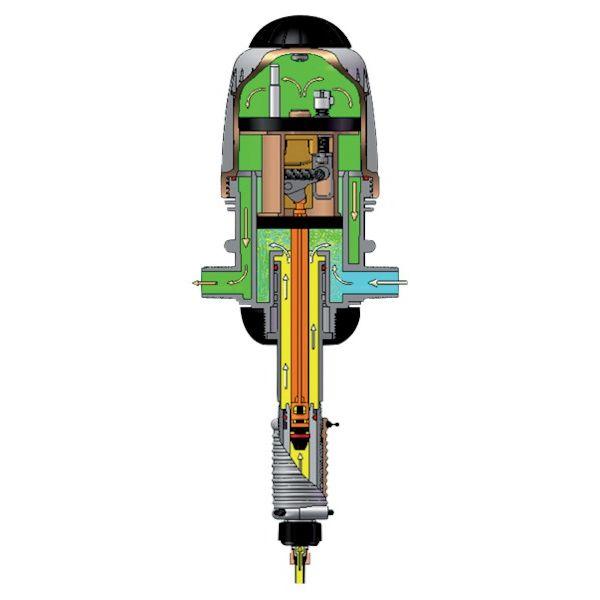 Dozator / Pompa MixRite, concentratie 0,3 - 2 % [1]