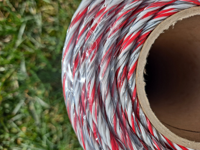 Fir premium pentru gard electric, 6 lite, 100 kg, 400 m [3]