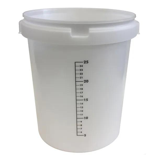 Galeata gradata ferma, cu capac, 30 litri [0]