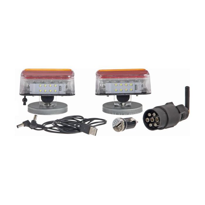 Instalatie electrica auto 12 V, LED, wireless - set 3
