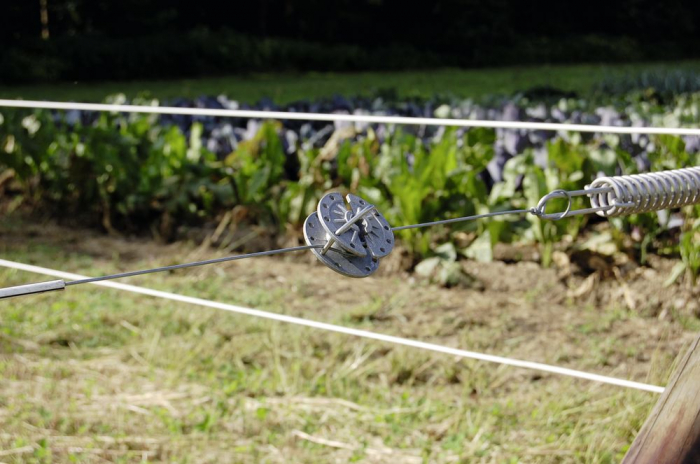 Intinzator fir gard electric, tip rola 2