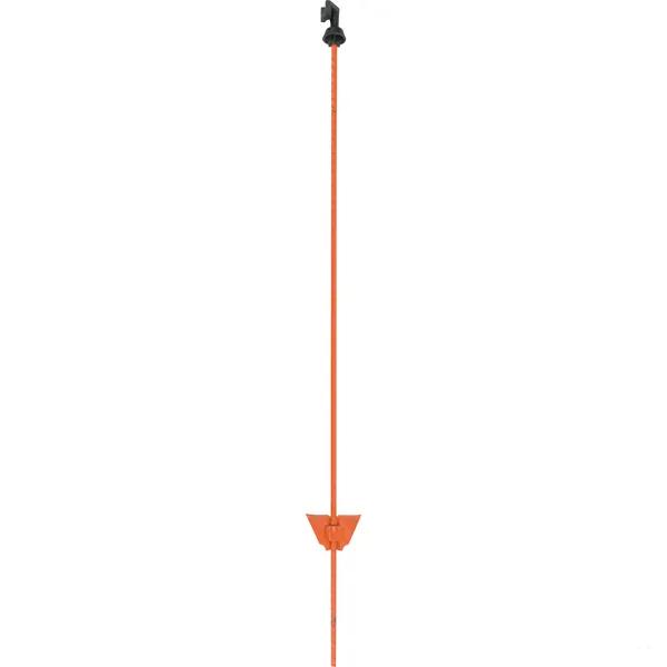 Stalpi pentru gard electric, otel, 105 cm 0