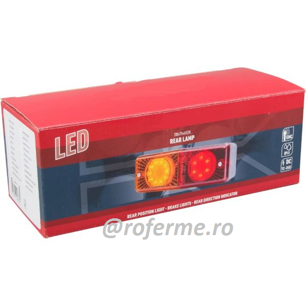 Lampa spate LED auto, 3 functii 0