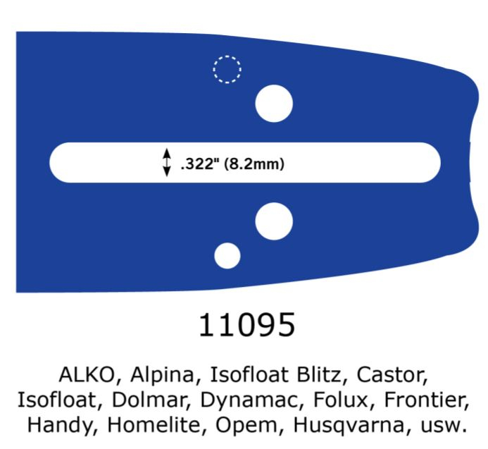 Lant motofierastrau + lama, 38 cm, pas .325 (dinti titan), Husqvarna, Dolmar, Alpina, Homelite, China, etc [2]