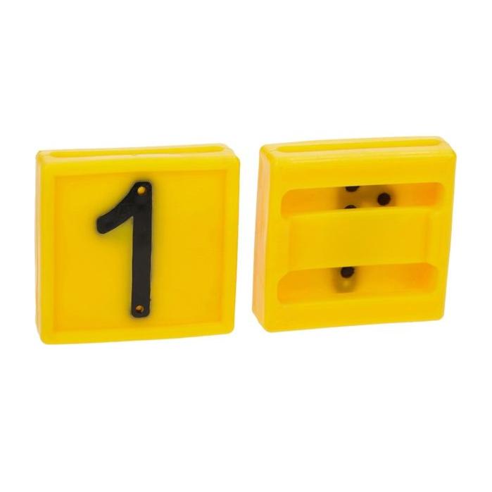 Numar pentru curea marcare [0]