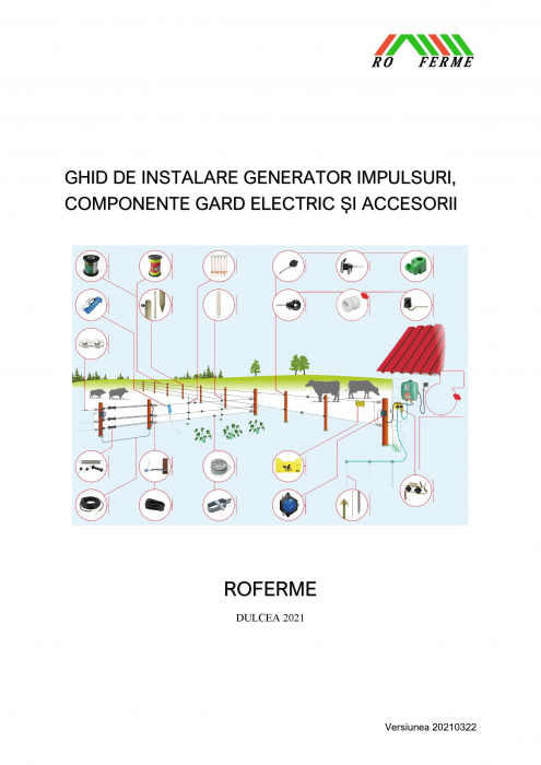 Pachet gard electric, 500 m - 1000 m, cu sau fara kit fotovoltaic 1