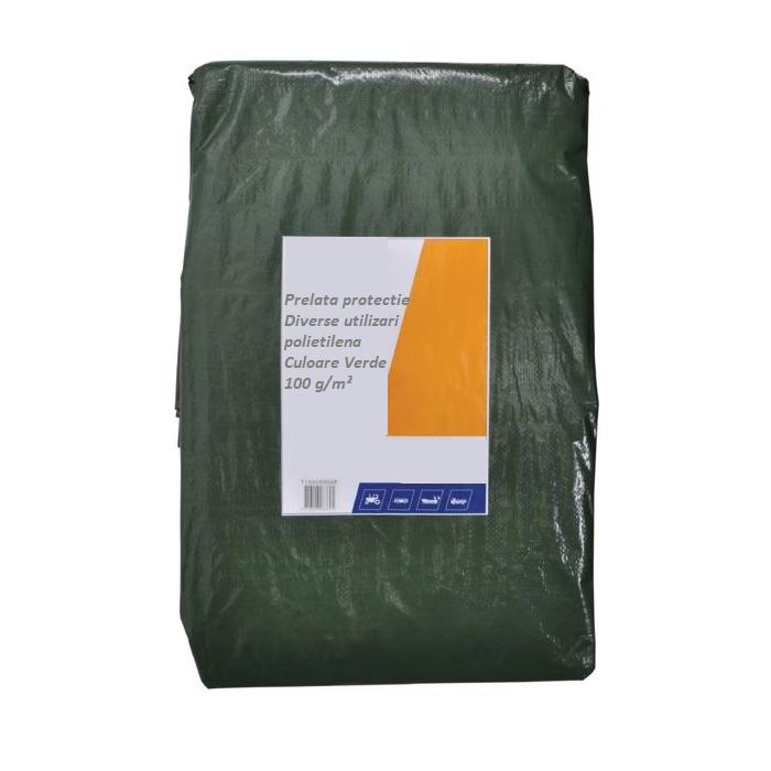 Prelata de protectie, diverse marimi, verde 0