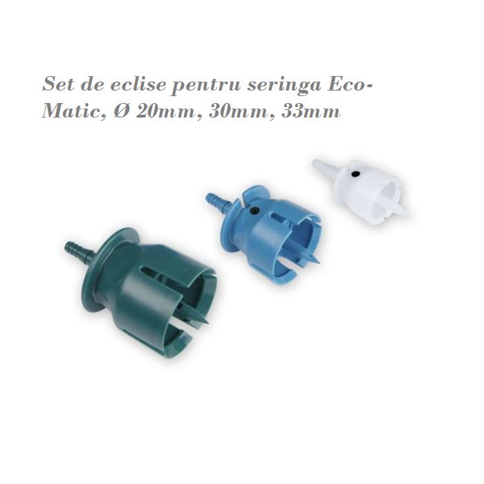 Adaptoare (3 buc. ) seringa Eco-Matic pentru flacon [0]