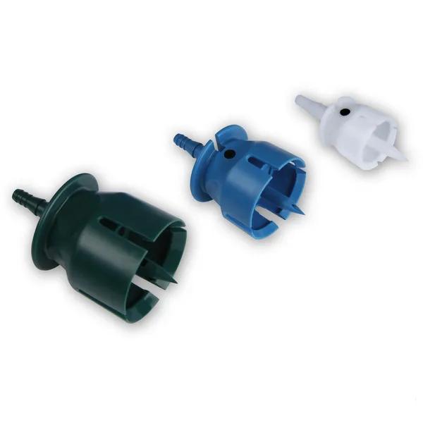 Adaptoare (3 buc. ) seringa Eco-Matic pentru flacon [1]