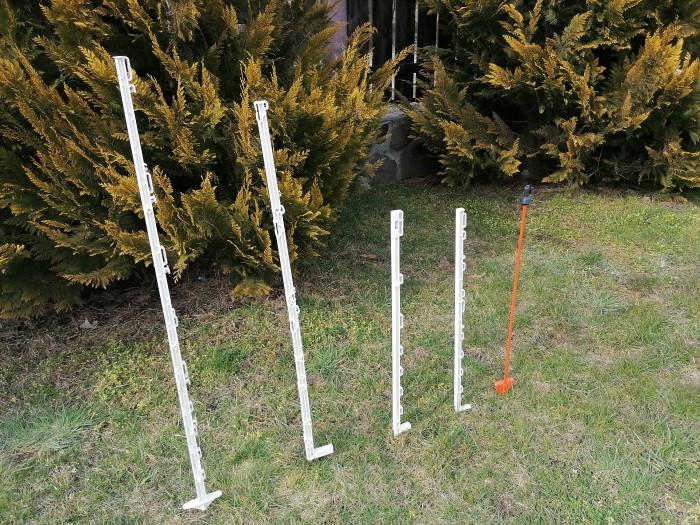 Stalpi pentru gard electric, 102 cm 3