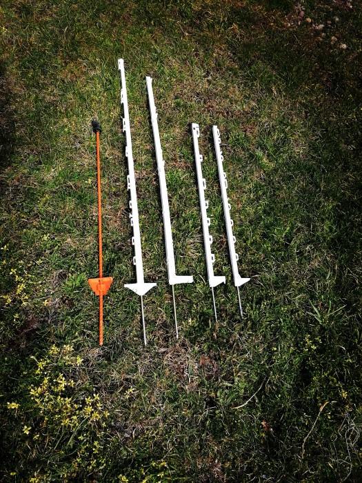 Stalpi pentru gard electric, 153 cm 3