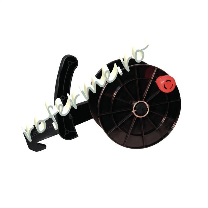 Tambur pentru fir gard electric, cu suport 1