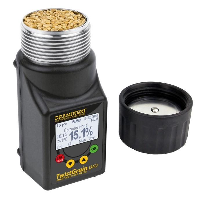 Umidometru cereale, portabil, TG PRO cu sonda temperatura [1]
