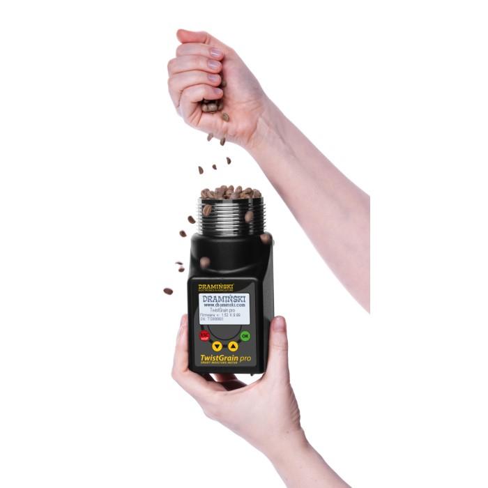 Umidometru cereale, portabil, TG PRO cu sonda temperatura [5]
