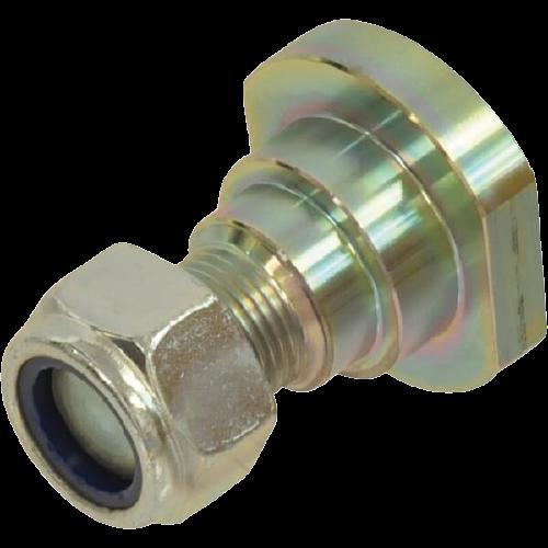 Șurub cu piuliță pentru lame, cositoare rotativa, M24 [0]