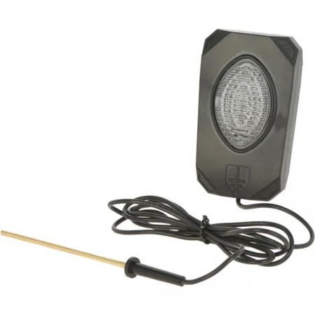 Avertizor LED, tensiune gard electric0