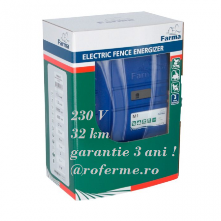 Aparat gard electric Farma M1 - 1 J, 230 V0