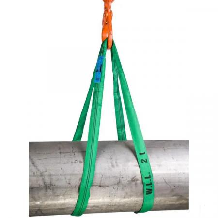 Chinga pentru ridicare sarcini, circulara,  2 tone  / 1 m0