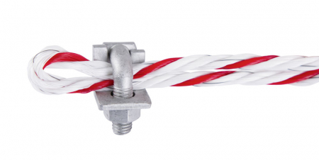 Clema metalica pentru conductori gard electric1