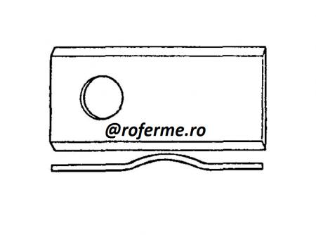 Cutit ondulat pentru cositori rotative1