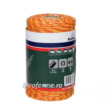 Fir pentru gard electric - 2,5 mm, 40 kg, 250 m [0]