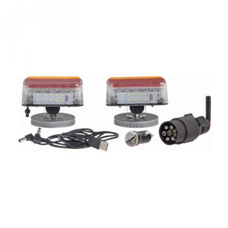 Instalatie electrica auto 12 V, LED, wireless - set3