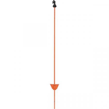 Stalpi pentru gard electric, otel, 105 cm0