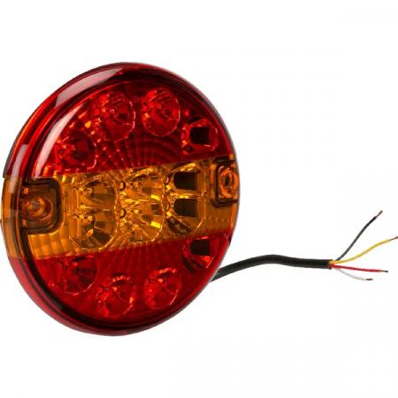 Lampa rotunda LED, model clasic, 3 functii0