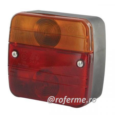 Lampa spate 12 V, tractoare, remorci, rulote, 3 functii [0]