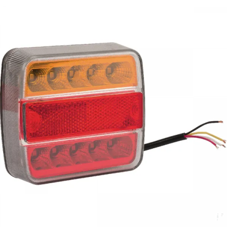 Lampa spate cu LED, 10-30 V, 5 functii, montabila [0]