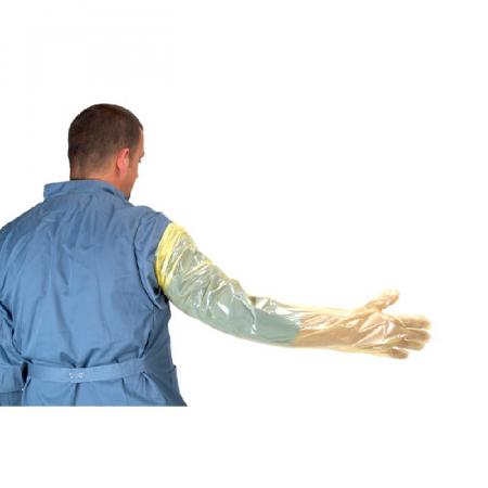 Manusi examinare, uz veterinar, 92 cm0