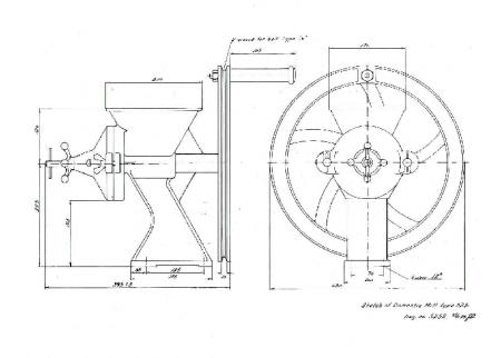 Moara manuala Diamant D.525 [2]