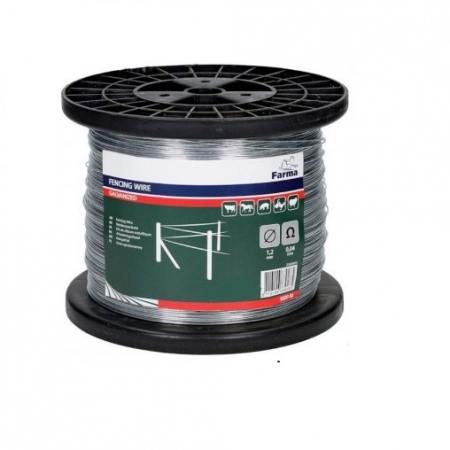 Sarma pentru gard electric - 1,2 mm x 1000 m [0]