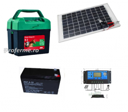 Pachet gard electric cu incarcare solara, 3 ani garantie [0]