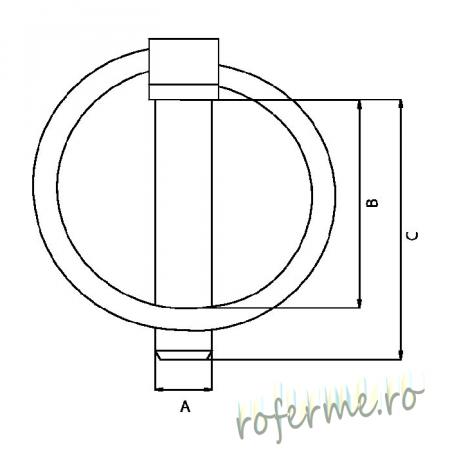 Set sigurante cu inel blocare - 4,5 mm1