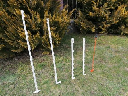 Stalpi pentru gard electric, 102 cm3