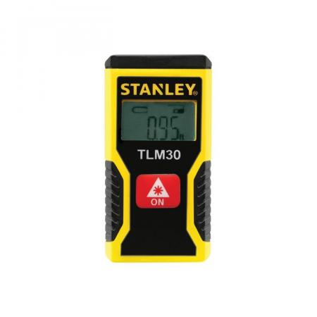 Telemetru laser Stanley, Li-ion, LCD, 9m0