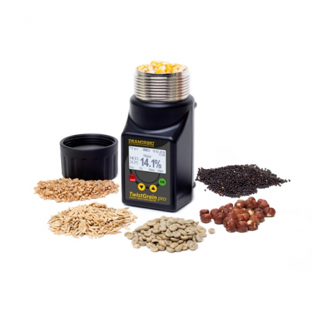 Umidometru cereale, portabil, TG PRO cu sonda temperatura [2]