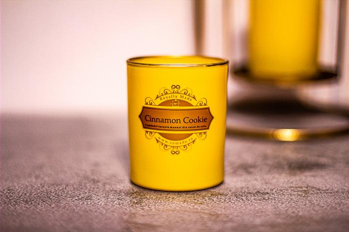 Lumânare Cinnamon Cookie 0